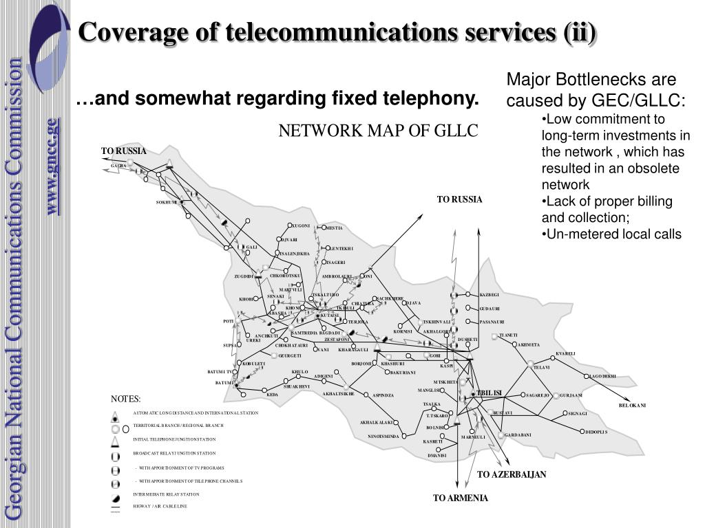 Coverage of telecommunications services (ii)