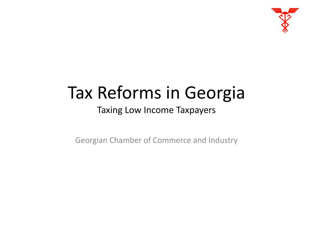 Tax Reforms in Georgia