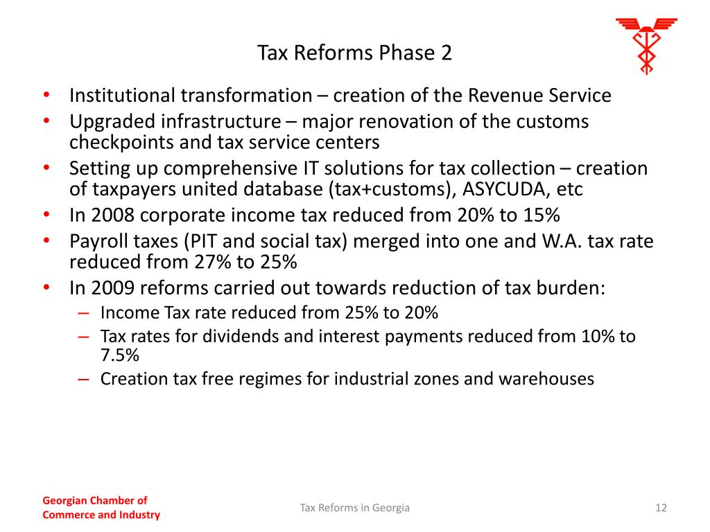 Tax Reforms Phase 2