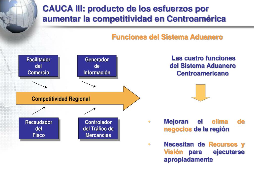 CAUCA III: producto de los esfuerzos por aumentar la competitividad en Centroamérica