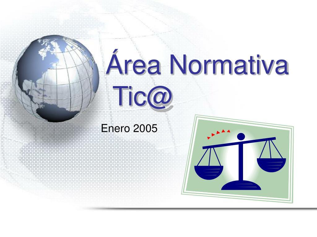 Área Normativa