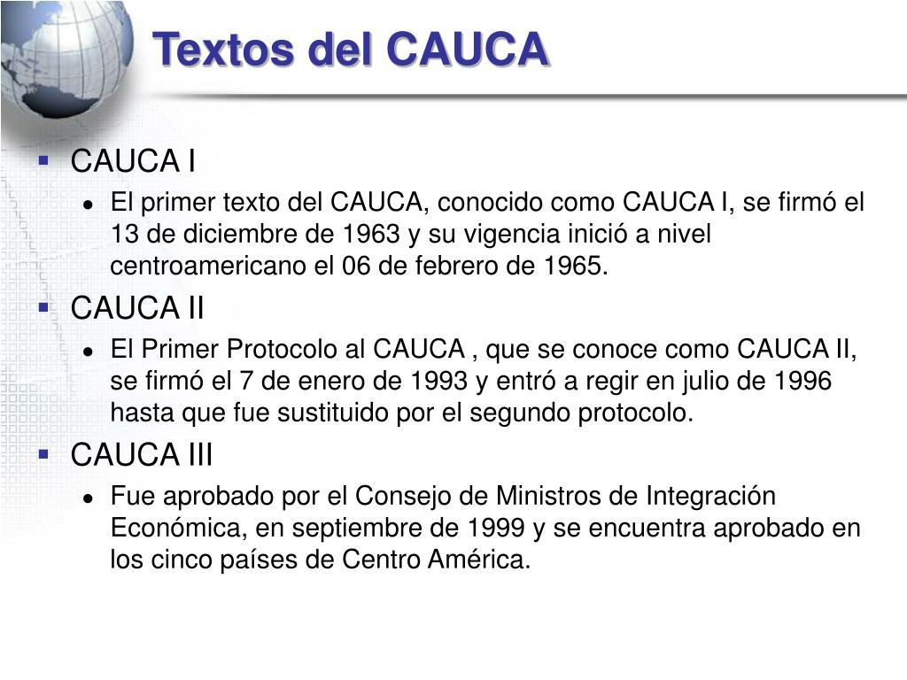 Textos del CAUCA