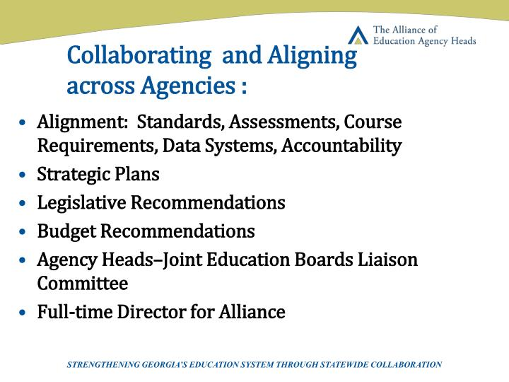 Collaborating  and Aligning