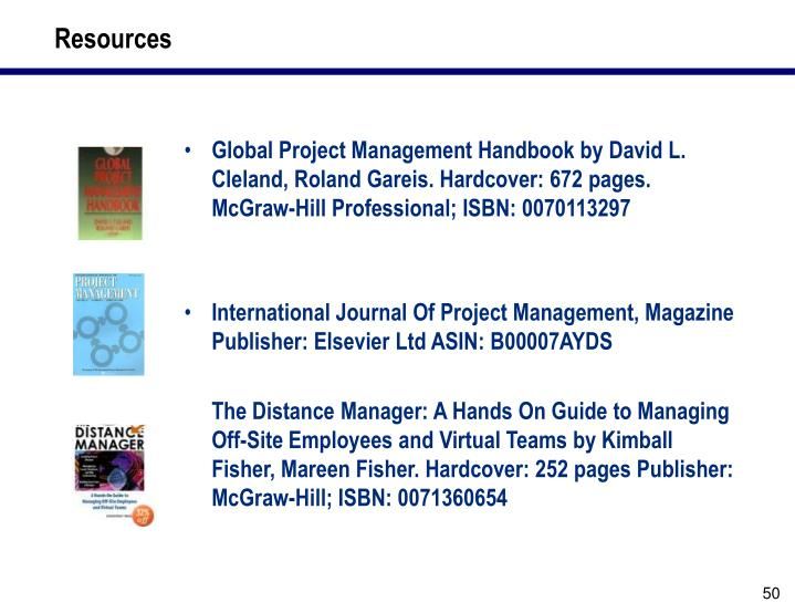 Ppt Best Practices For Planning Managing And Executing A Global