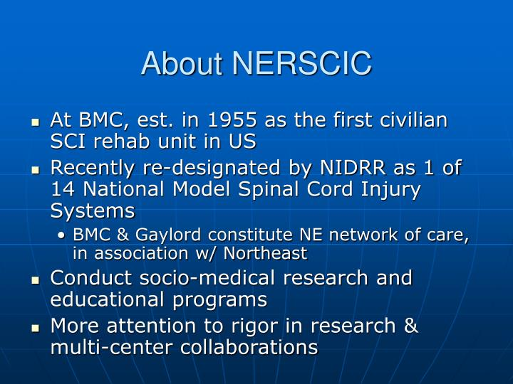 About nerscic
