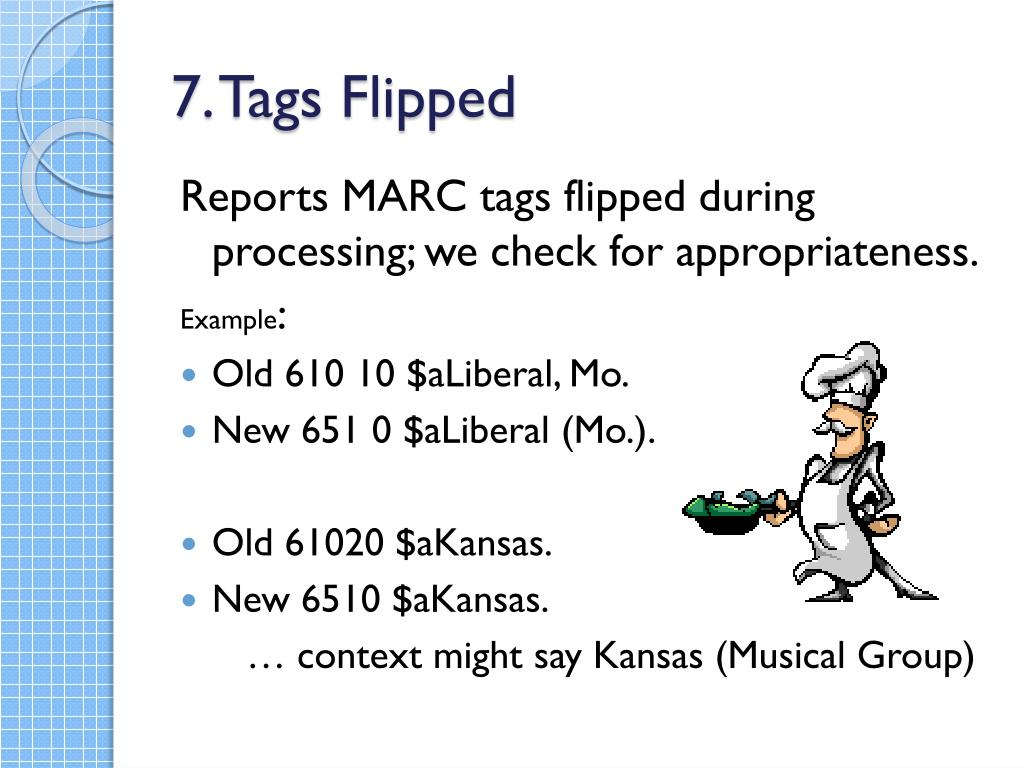 7. Tags Flipped