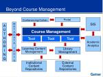beyond course management