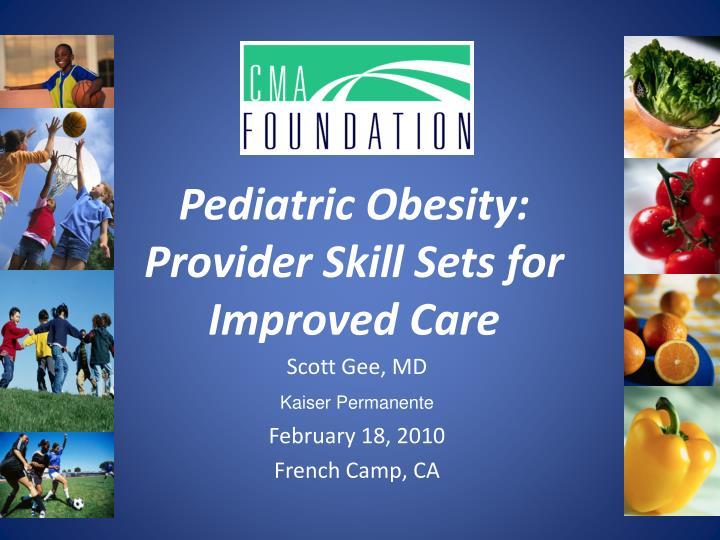 Pediatric Obesity: