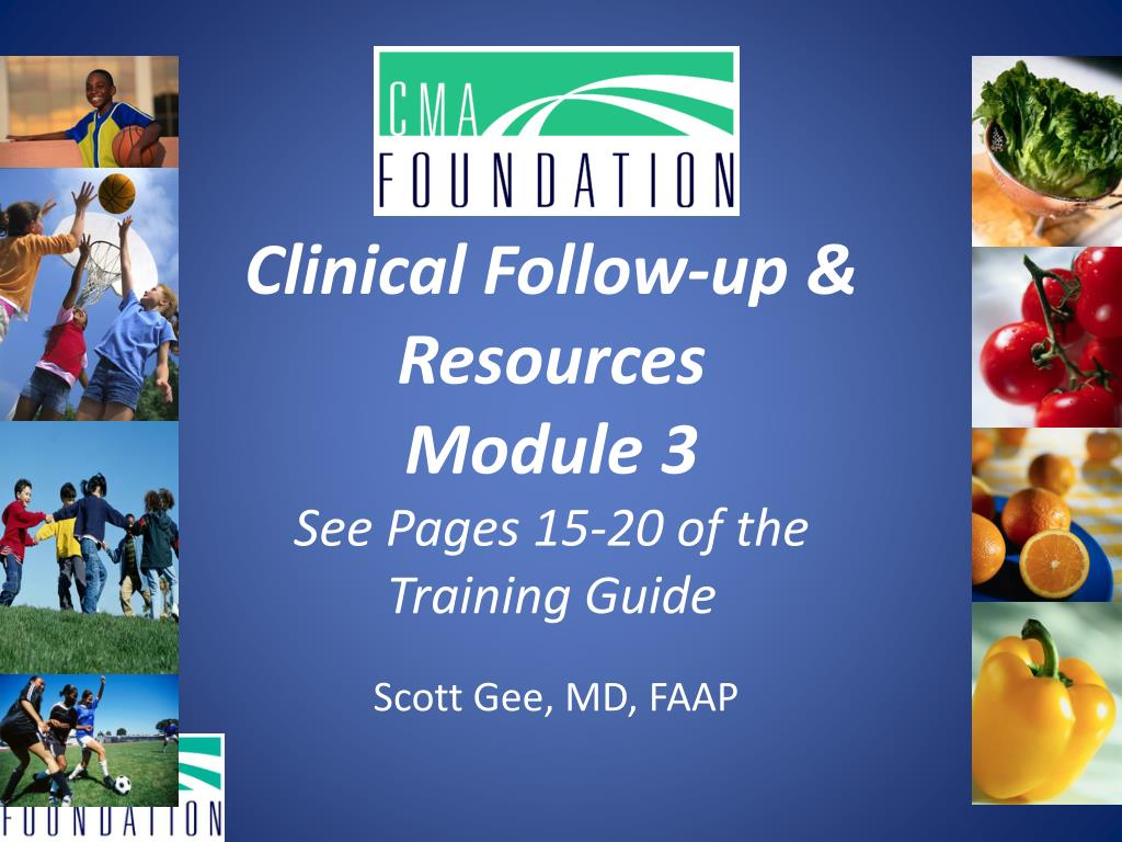 Clinical Follow-up & Resources