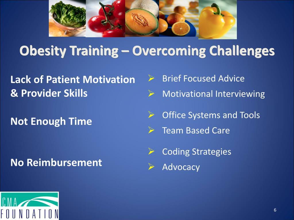 Obesity Training – Overcoming Challenges