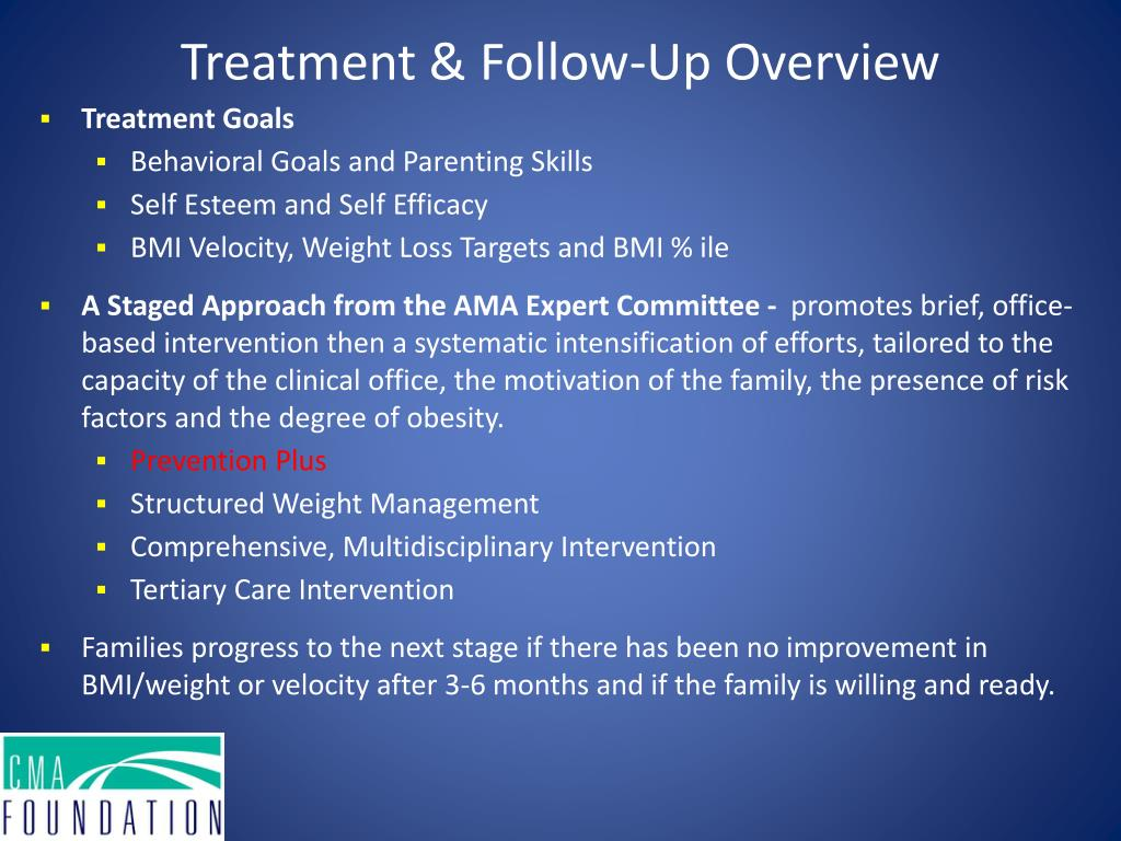 Treatment & Follow-Up Overview