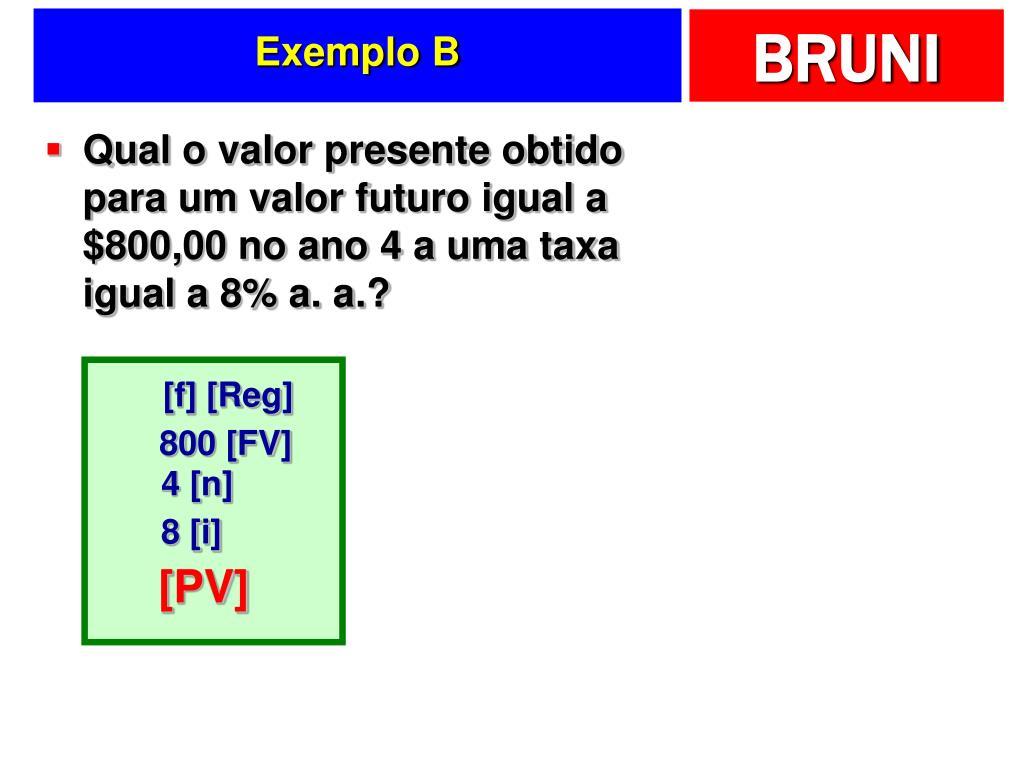 Exemplo B