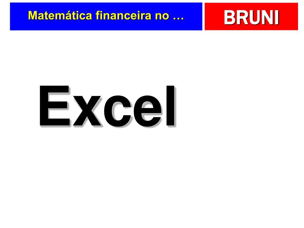 Matemática financeira no …