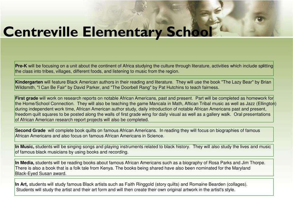 Centreville Elementary School