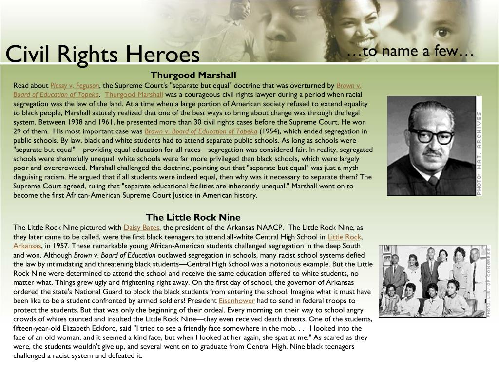 Civil Rights Heroes