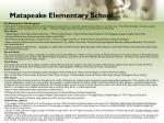 matapeake elementary school