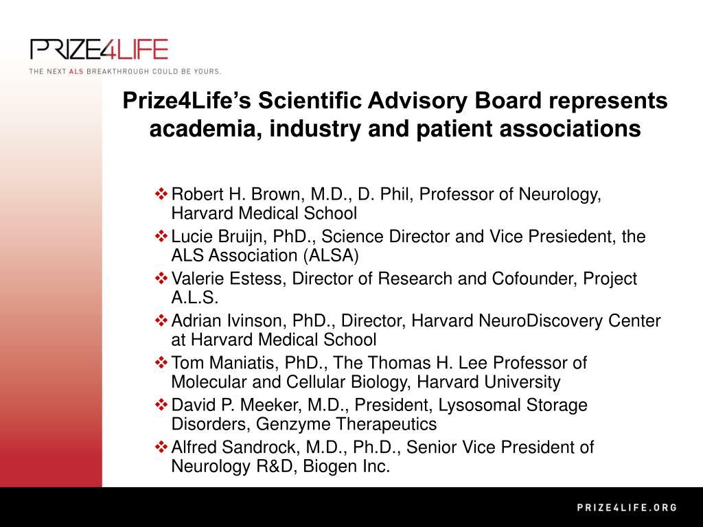 Robert H. Brown, M.D., D. Phil, Professor of Neurology, Harvard Medical School