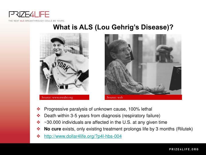 What is als lou gehrig s disease