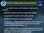 some sobering conclusions