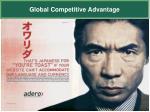 global competitive advantage
