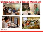 cartoon animation manga workshops