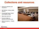 collections and resources