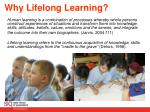 why lifelong learning