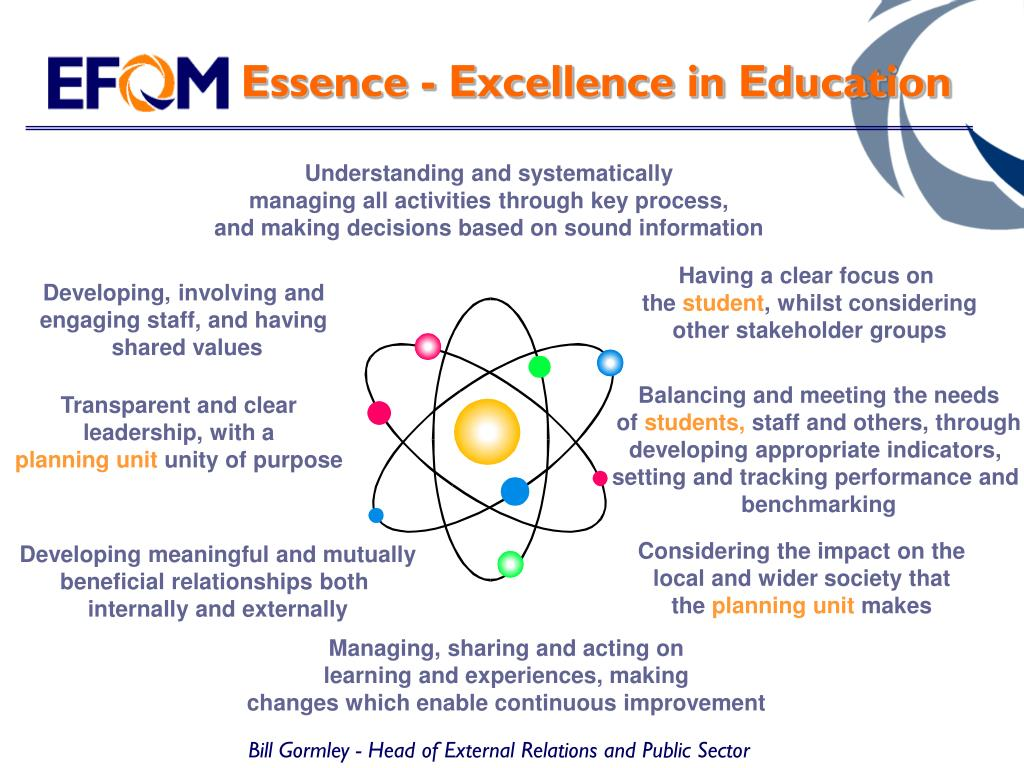Essence - Excellence in Education