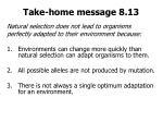take home message 8 13