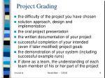 project grading