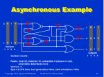 asynchronous example
