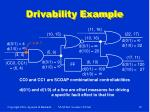 drivability example