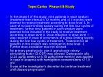 topo carbo phase i ii study