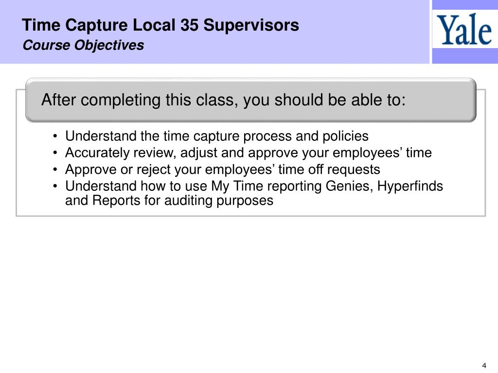 Time Capture Local 35 Supervisors