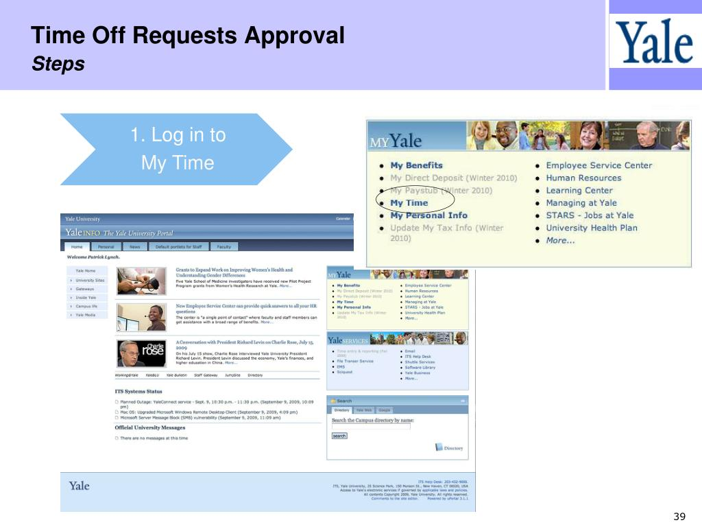 Time Off Requests Approval