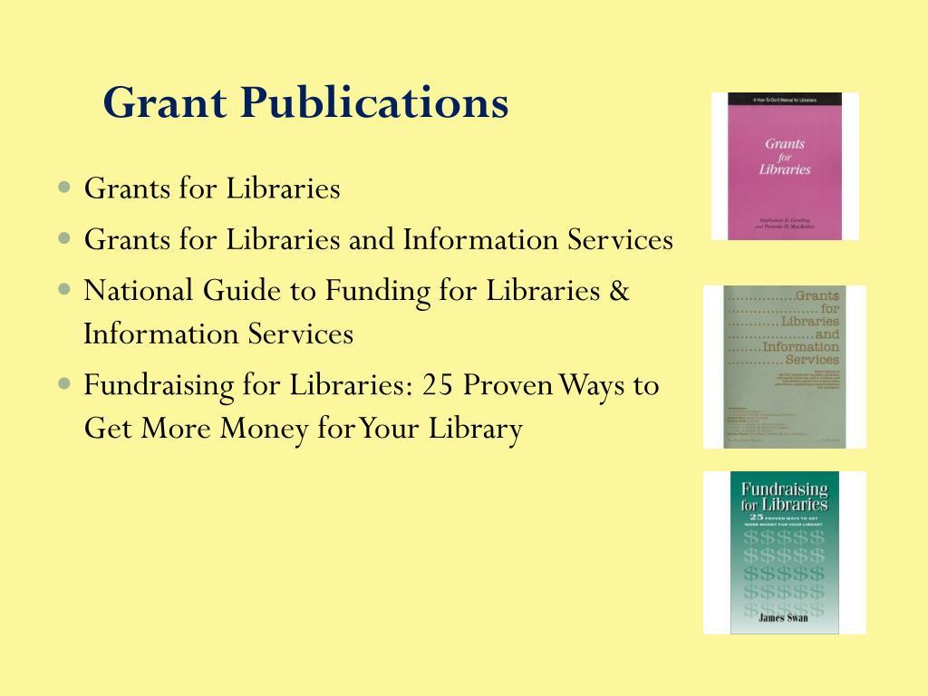 Grant Publications