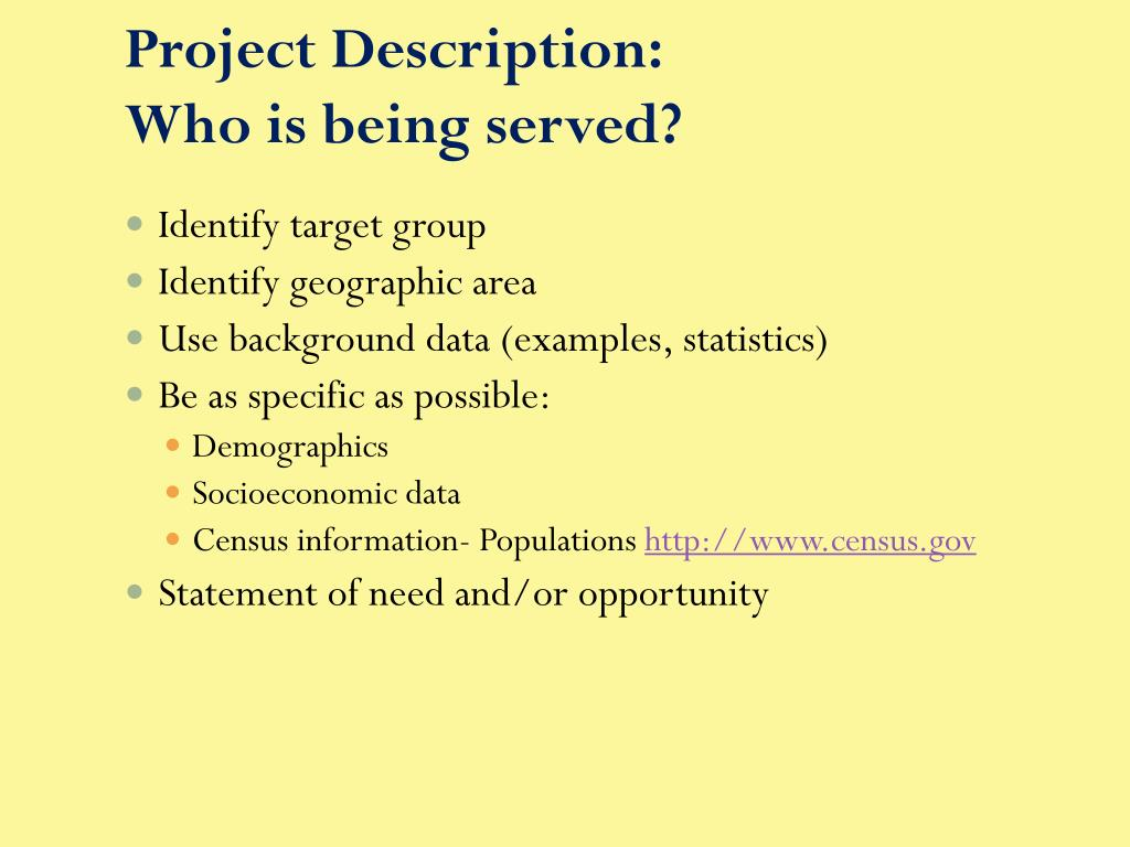 Project Description: