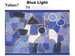 blue light by paul klee