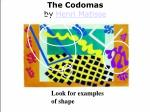 the codomas by henri matisse