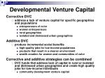 developmental venture capital