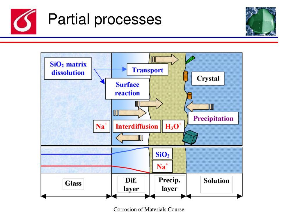 Partial processes
