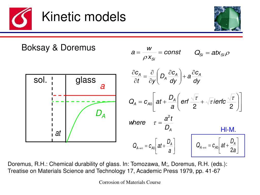 Kinetic models