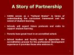 a story of partnership
