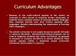 curriculum advantages8