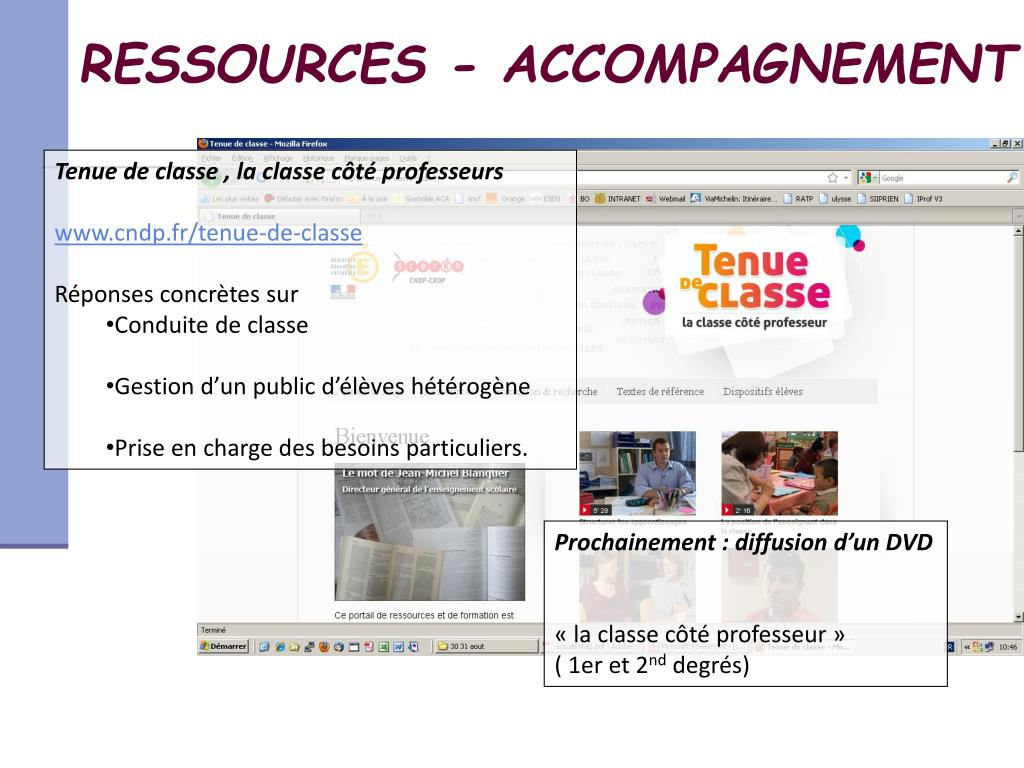 RESSOURCES - ACCOMPAGNEMENT