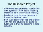 the research project10