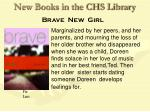 new books in the chs library24