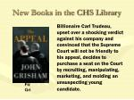 new books in the chs library31