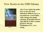 new books in the chs library44