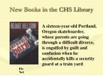 new books in the chs library45